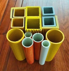 Pultruded FRP square tube and FRP pultrusion tube