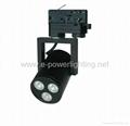 3*3W Black LED Track Spot Lights