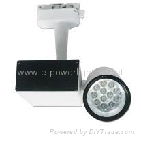 Two Lines LED Track Spotlights EPT814-9W-9x1W