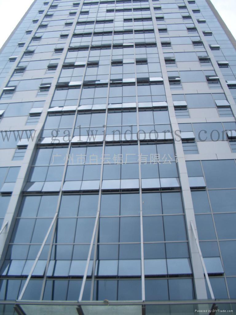 curtain wall system - BAIYUN (China Manufacturer) - Curtain Wall ...