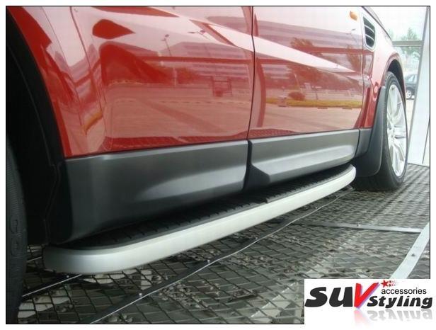 Deployed Side Steps For Range Rover Genuine Accessory: Range Rover Sport Running Boards Side Steps