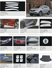 Accessories for Sportage 2010
