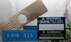 Solar warning switchboard
