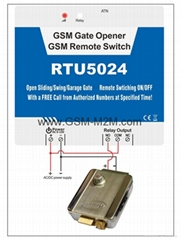 GSM 3G Gate Opener Acces