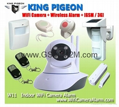 Wireless Smart  Home   wifi  HD IP Camera alarm