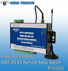 RTU5020 Wireless GSM 3G 4G SMS Remote Control Switch