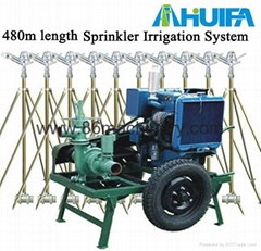 Irrigation Machine Generator and Water Pump