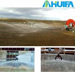 Hose Irrigation Machine with Boom