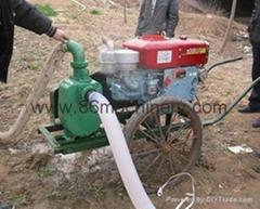 Diesel Engine and Water Pump