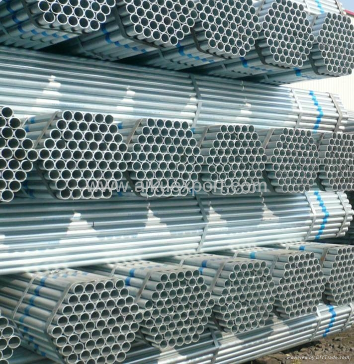 Hot Galvanizing Greenhouse Steel Pipe 1