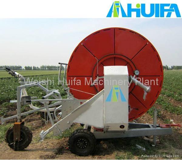 Hot selling hose reel irrigation system jp huifa