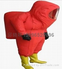 Fully enclosed protective clothing