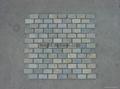 Mosaic mat,slate mesh tile