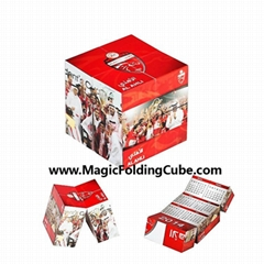 Foldable Magic Cube, Magic Folding  Cube