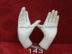 plastic mannequins hands
