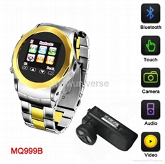 2011 hot sale watch phone with bluetooth and camera