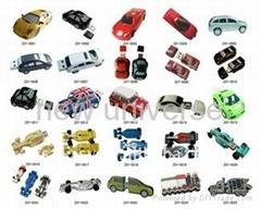 Popular Models Car Shaped USB Drives Memory Sticks
