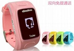 Intelligent children watch children Guardian Bracelet GPS position 360 degrees