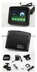Waterproof Motorcycle 3.5inch GPS Photo Quotation