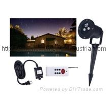 Red Star Garden Outdoor dynamic laser light (double laser)