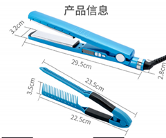 Babyliss lHair Straightener Clip Artifact V-shaped Hair iron Medium Plate Set (Hot Product - 1*)