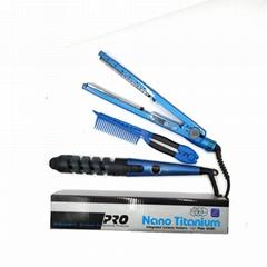 Hair straightener hair iron hair curler