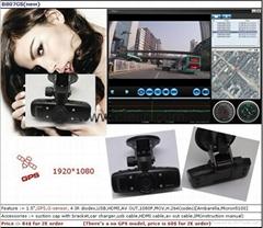 FULL HD  New Car DVR with G-sensor