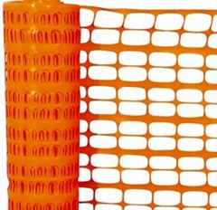 orange safety barrier
