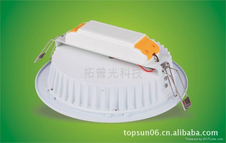 4寸10W白色外殼天花筒燈 2