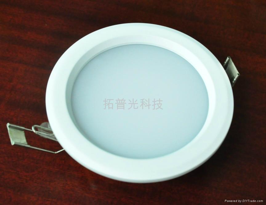 拓普光6寸15W吸頂式嵌入筒燈 2