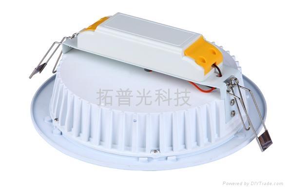 拓普光8寸LED筒燈 2