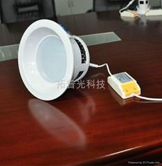深圳LED聚光防火筒灯