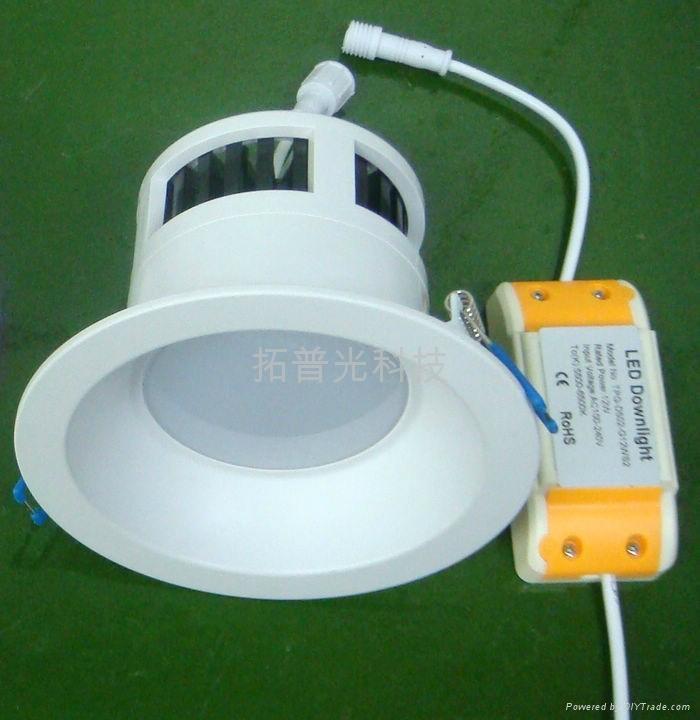 拓普光4寸阻燃PC筒燈 1