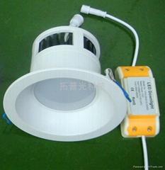 拓普光4寸阻燃PC筒燈