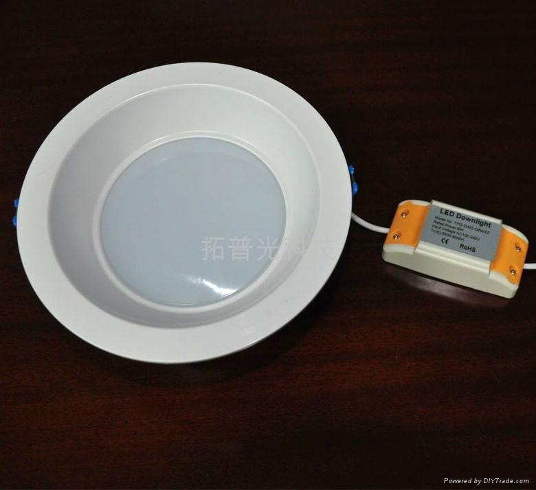 拓普光4寸阻燃PC筒燈 2