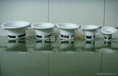 5寸12W防火塑膠筒燈