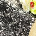 绍兴品达 色织TR TC涤氨纶色织格子双面提花针织布 1