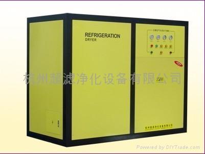 杭州超濾水冷標準型冷凍式乾燥機 1