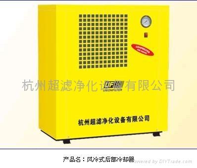 杭州超濾風冷式后部冷卻器 1