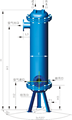 杭州超濾水冷式后部冷卻器 2