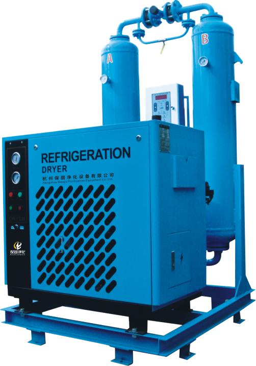 杭州超濾組合式微熱再生吸附式乾燥機 2