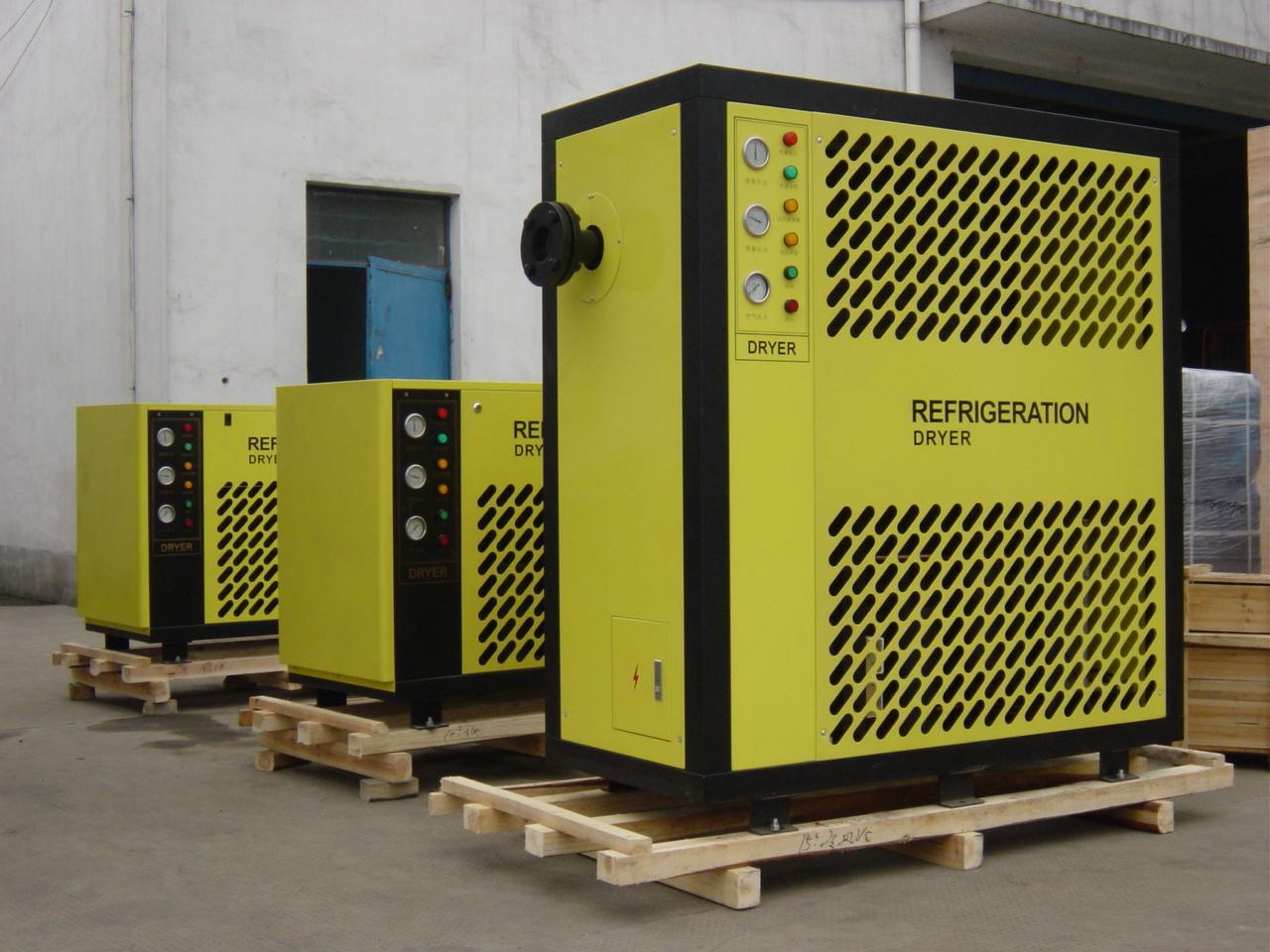 杭州超濾風冷高溫型冷凍式乾燥機 2