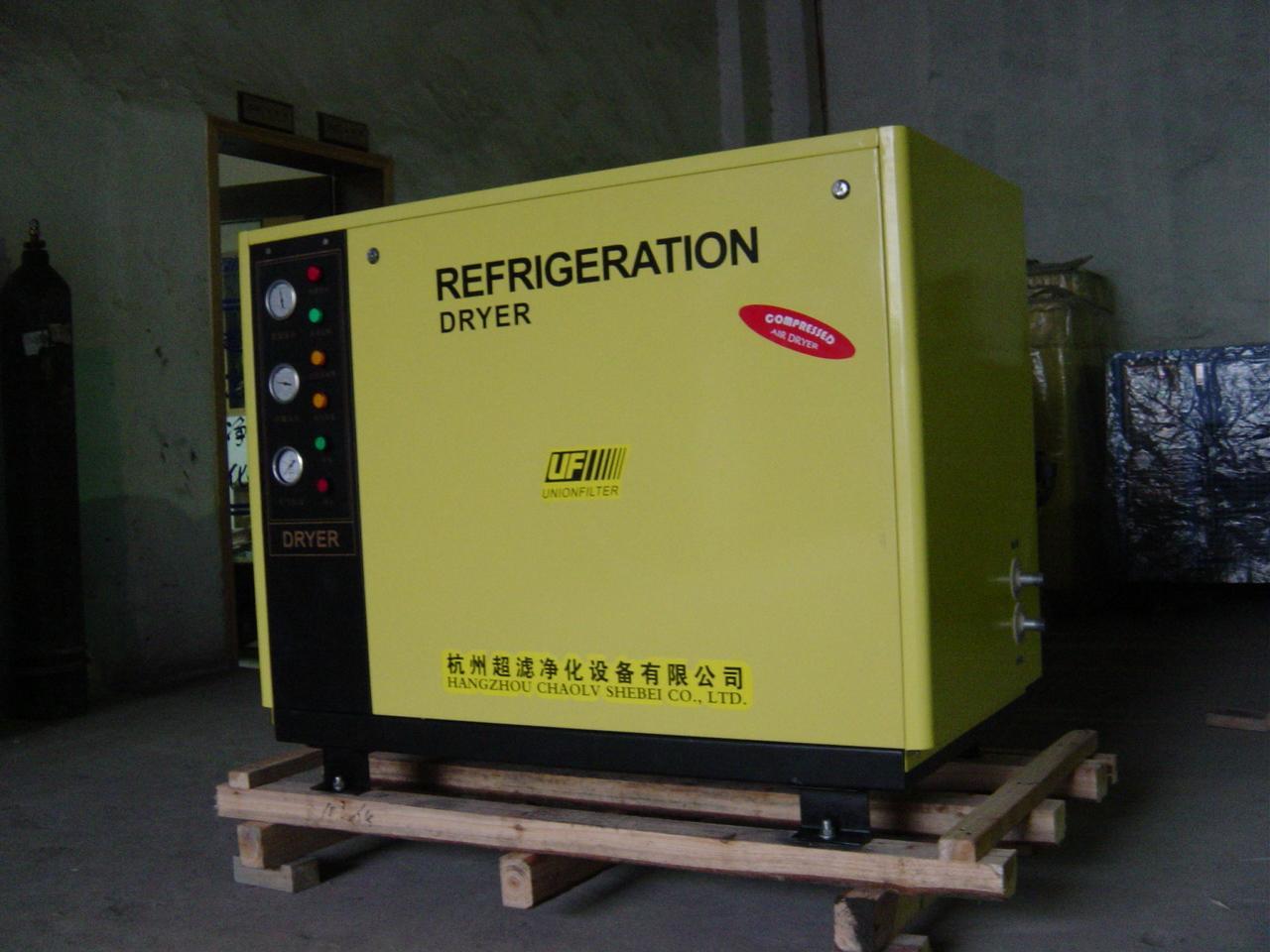 杭州超濾水冷標準型冷凍式乾燥機 2