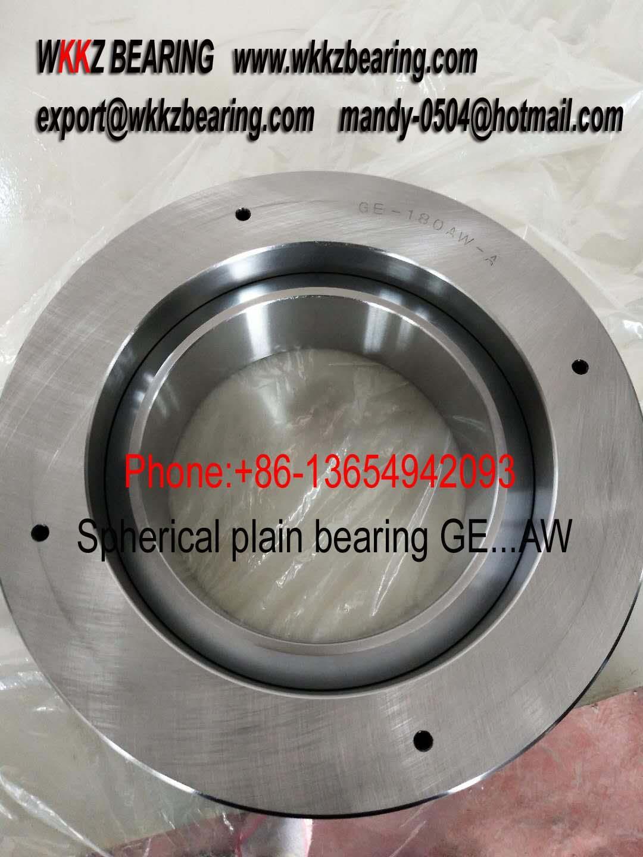 GE180AW spherical plain bearing,WKKZ BEARING