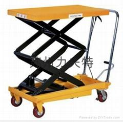 手推液壓平台車模具搬運車