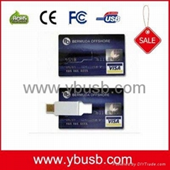 2gb business card usb Flash Drive