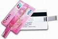 2gb business card usb Flash Drive 2