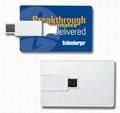 2gb business card usb Flash Drive 5