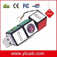 Magic Cube Cartoon USB Flash Drive