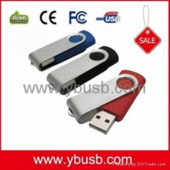 4GB Swivel USB Flash Drive